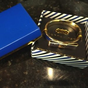 NWT Mudpie Bow Bracelet - Live Blue